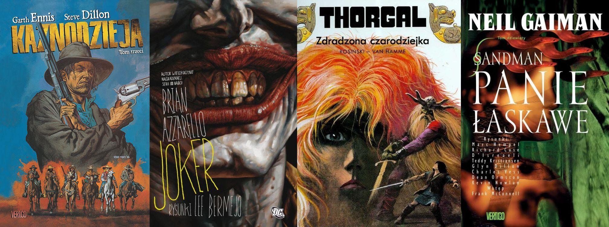 Kultowe komiksy Egmontu znów trafią do księgarń