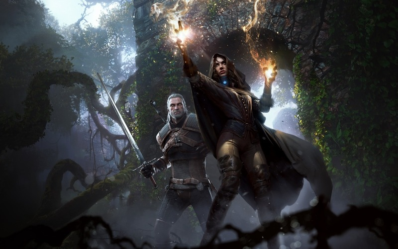 The Witcher 3 yennefer w serialu Wiedźmin