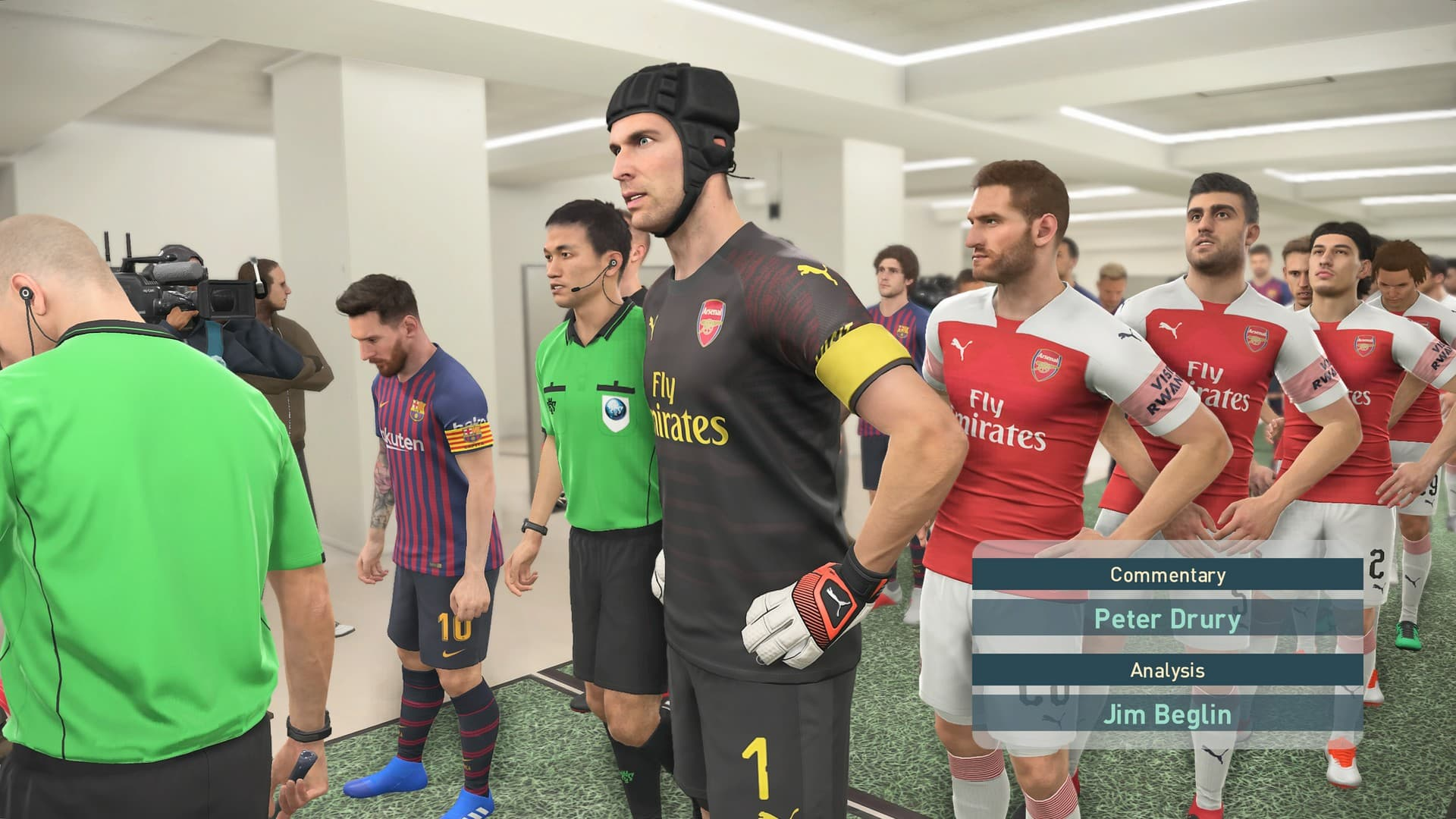 Arsenal vs Barcelona PES 2019