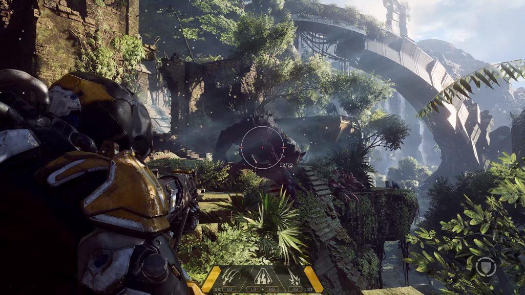 Gra Anthem od BioWare wynagrodzi walkę z naturą
