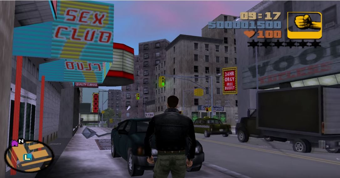 GTA 3 intertekstualizm