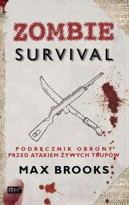 książki o zombie survival max brooks okładka