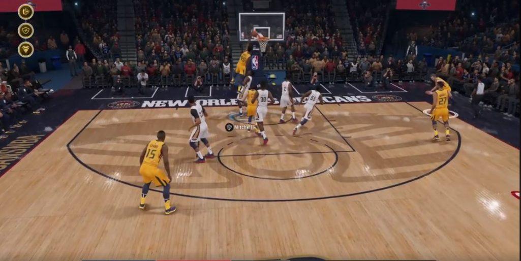 Zrzut z ekranu NBA LIVE 19