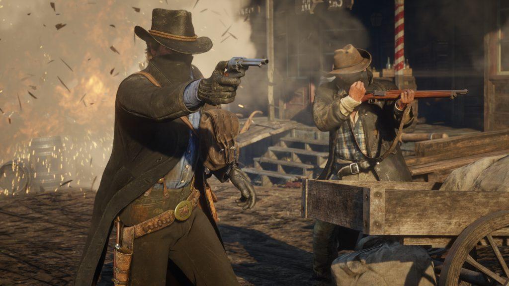 gameplay red dead redemption 2 premiera