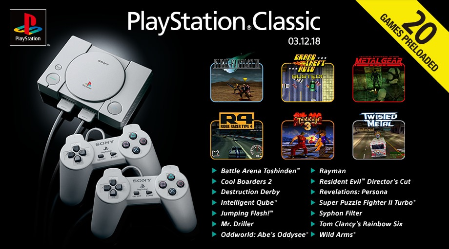 gry na PlayStation Classic