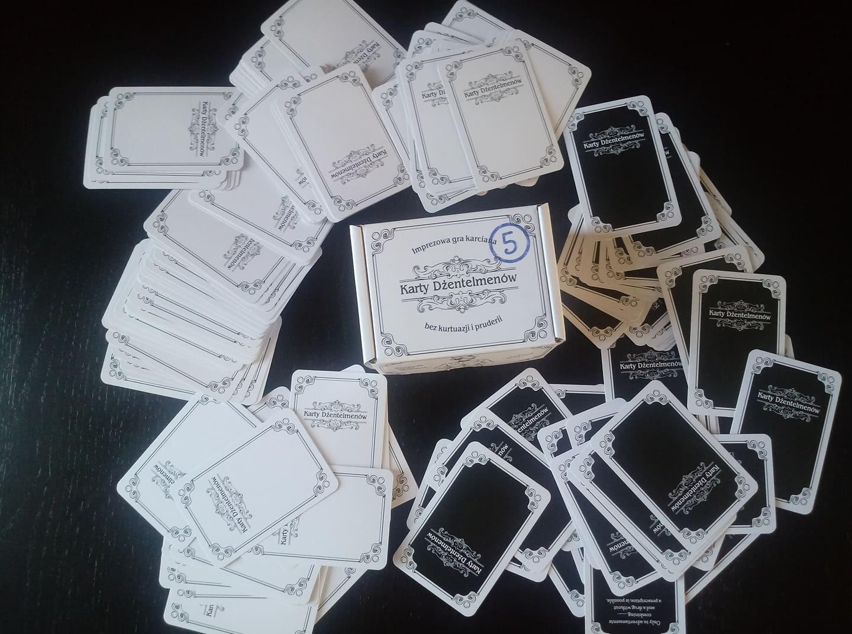 Karty Dżentelmenów 5. Dozwolone od lat 18 [RECENZJA]