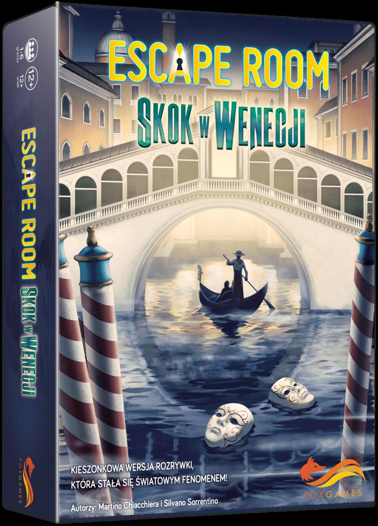 Escape Room: Skok w Wenecji [RECENZJA]