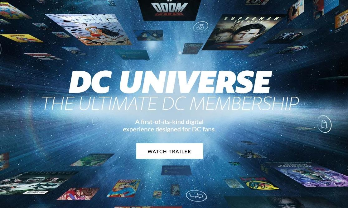 DC Universe: The Ultimate Membership!