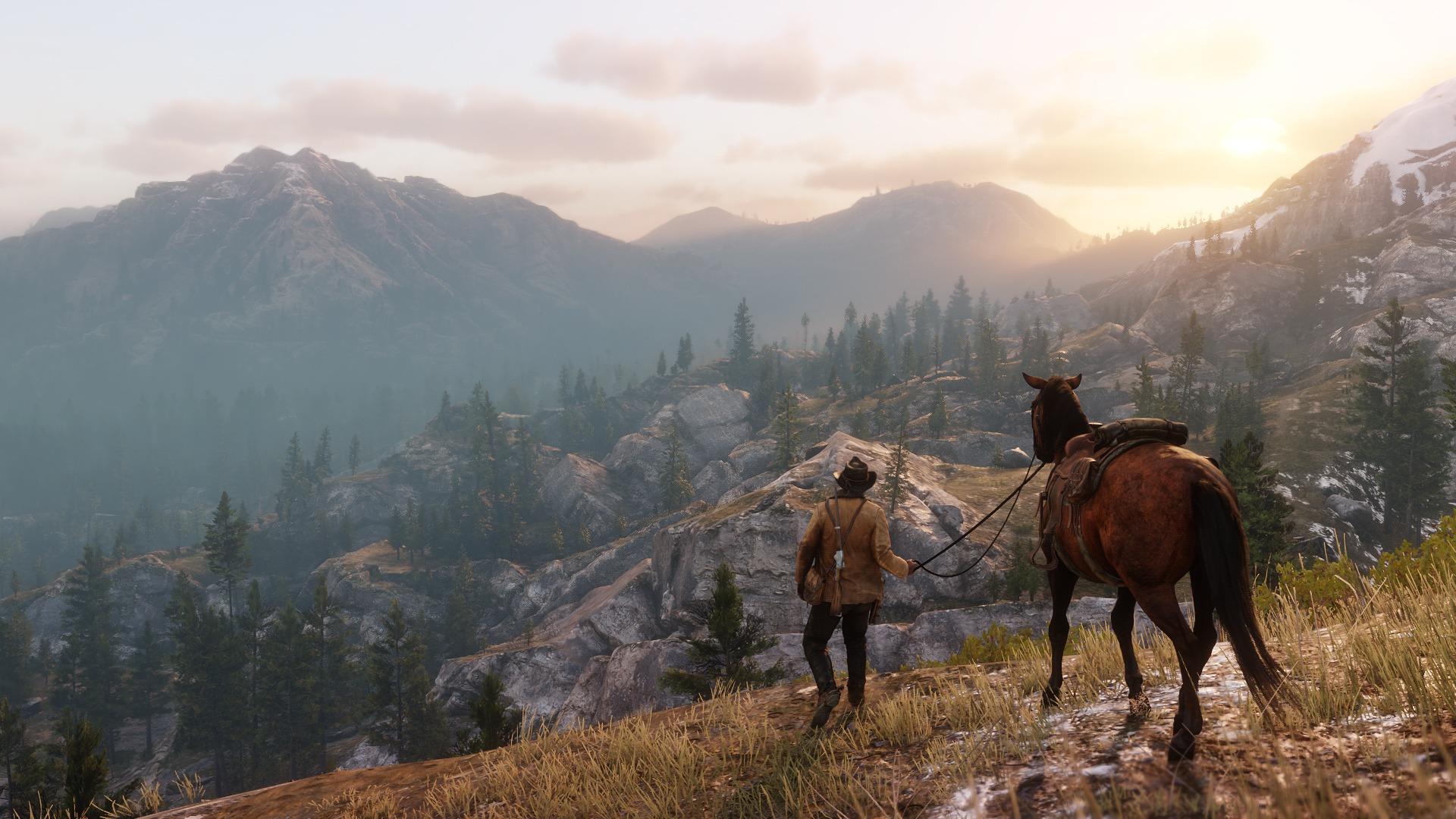 Wyciekła mapa Red Dead Redemption 2