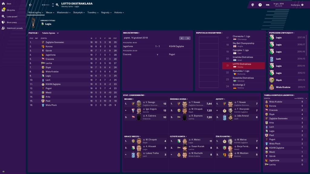 football manager legia
