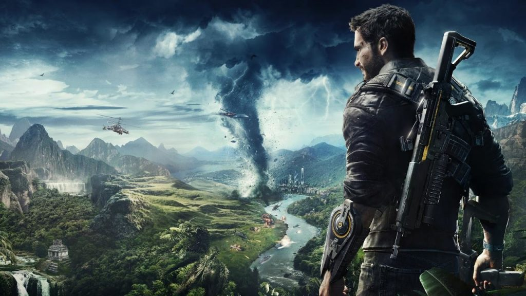 kinowy trailer just cause 4