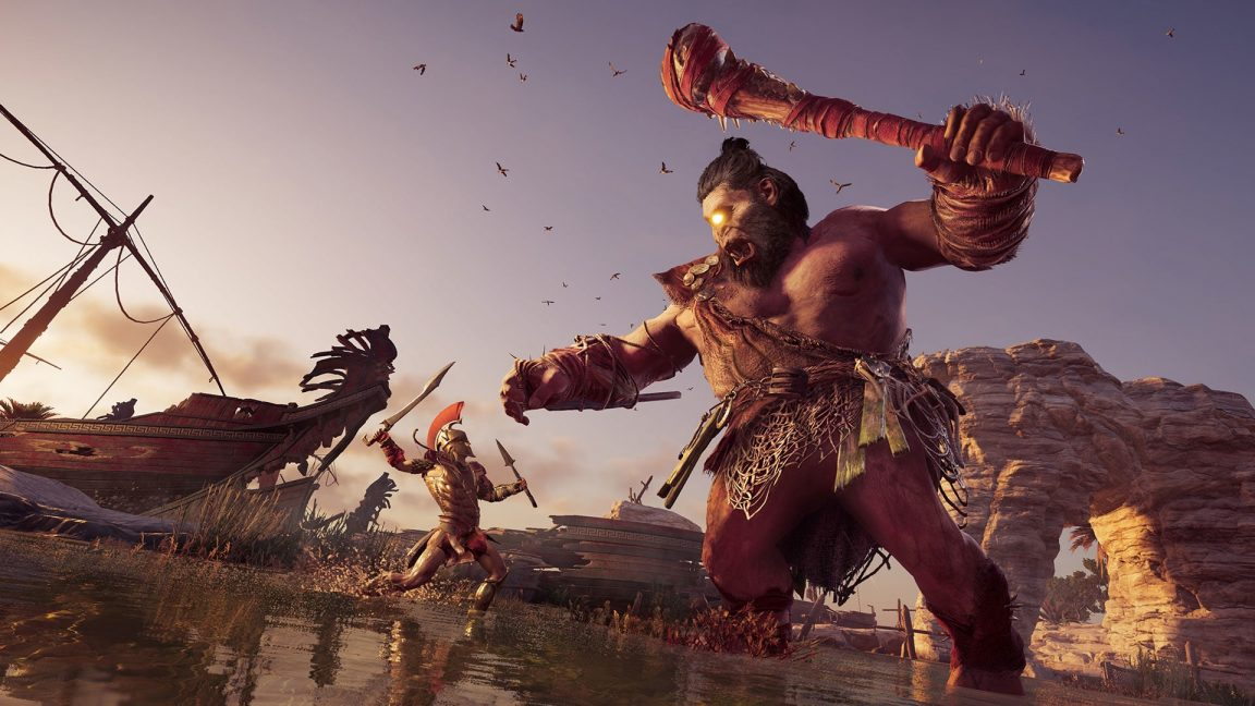 listopadowy update assassin's creed odyssey