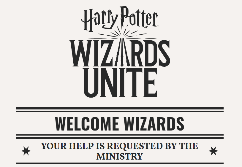trailer harry potter: wizards unite