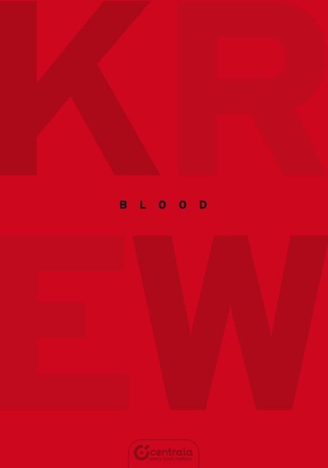 Krew - blood - komiks wydawnictwo Centrala