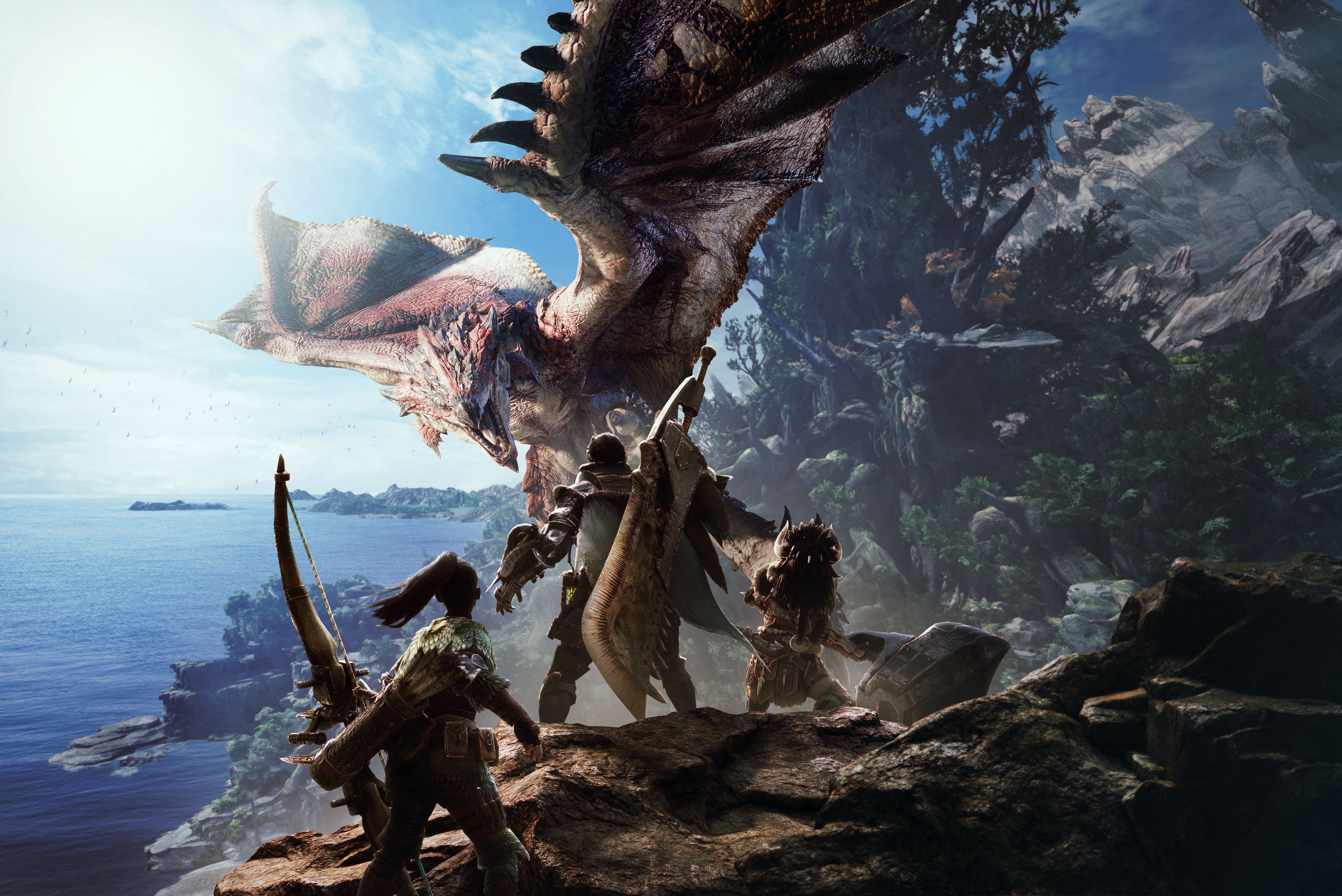 monster hunter world za darmo