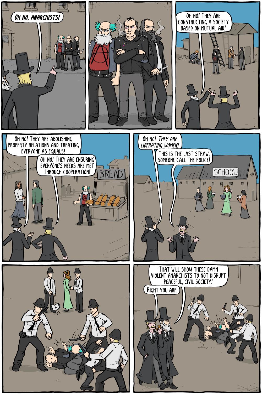 Anarchizm w komiksach