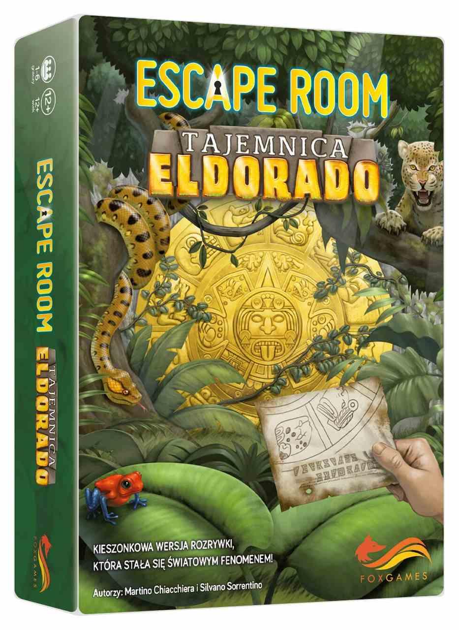 Escape Room: Tajemnica Eldorado już niedługo!