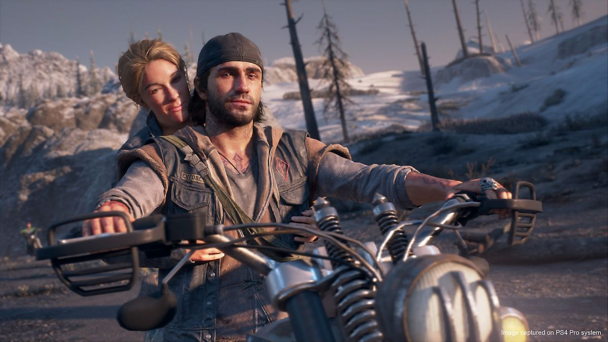 screeny z days gone