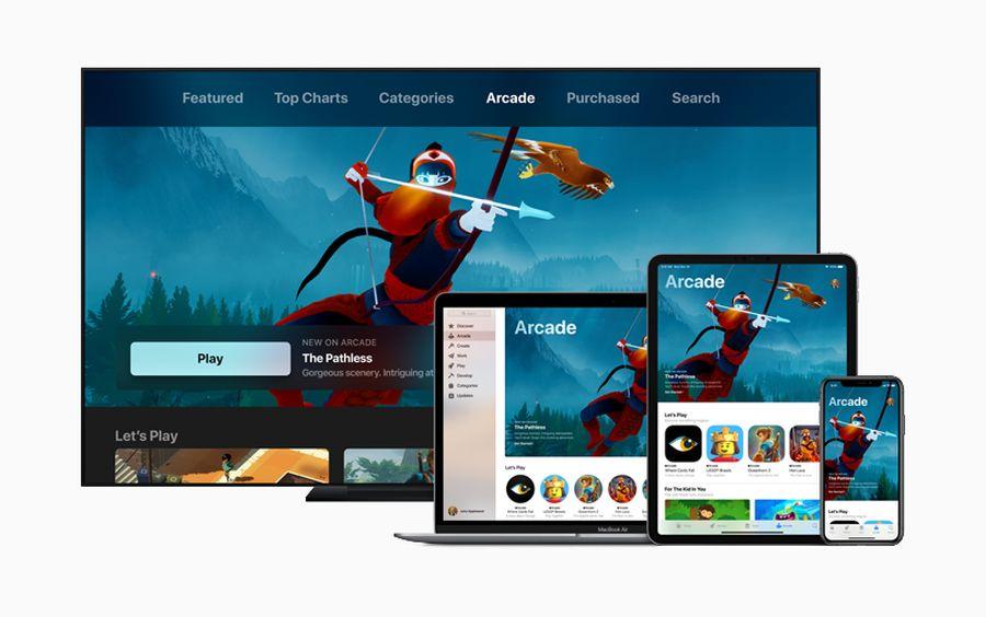 Apple Arcade i inne usługowe nowości od Apple