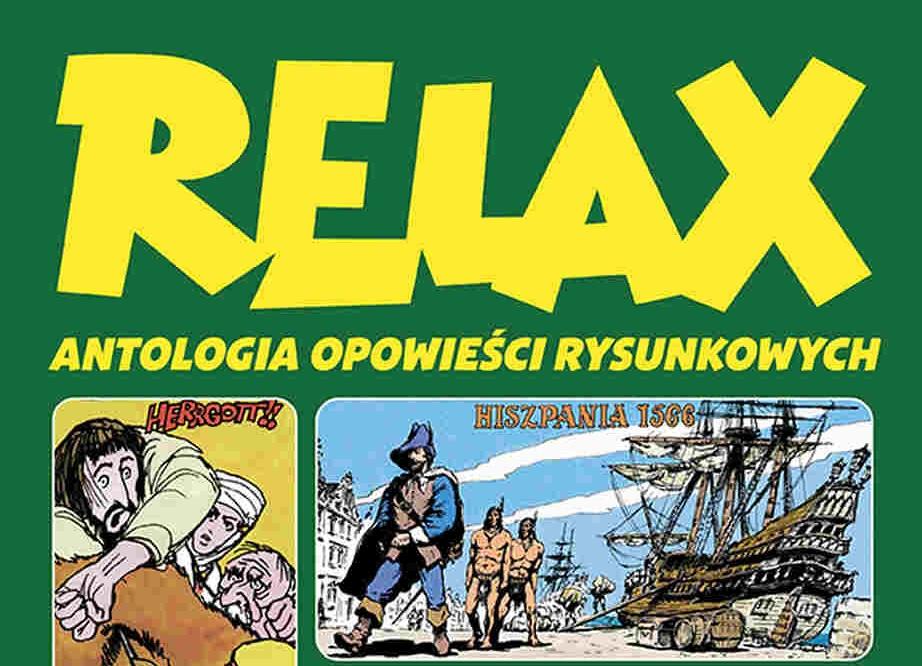 Relax. Antologia opowieści rysunkowych już 13 marca!