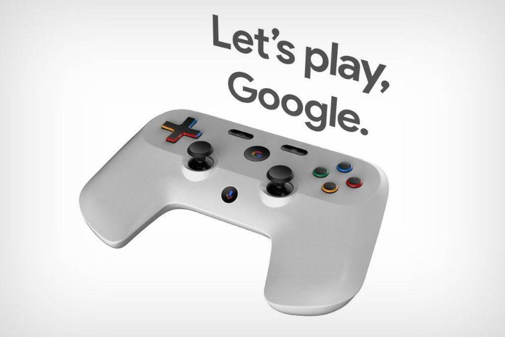 konsola google controller