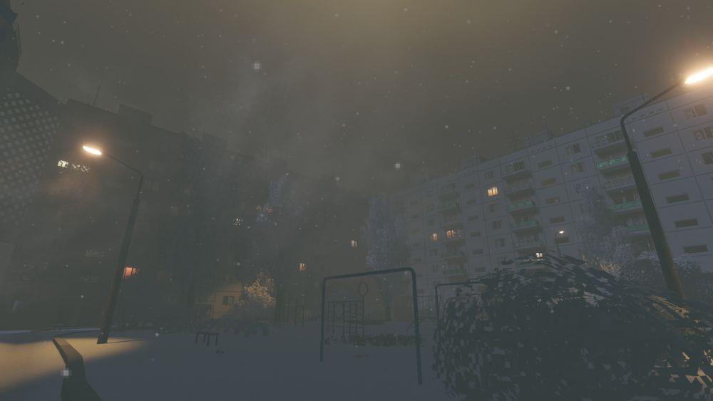 it's winter symulator rosyjskie blokowisko