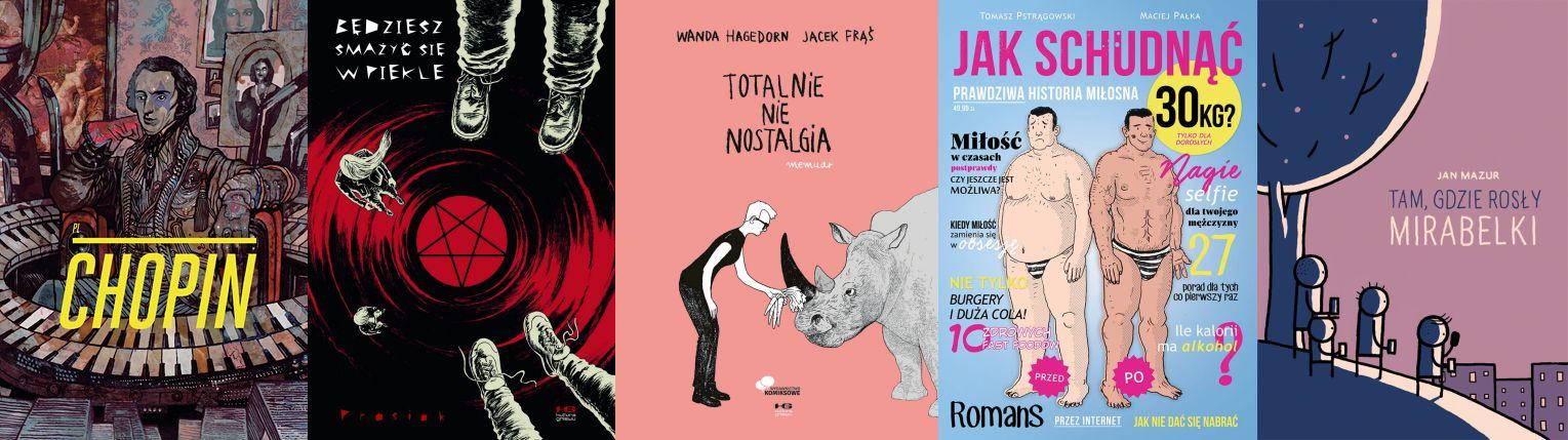 Najważniejsze polskie komiksy ostatnich 10 lat. Część 1