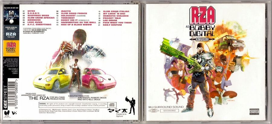 RZA – as Bobby Digital in Stereo