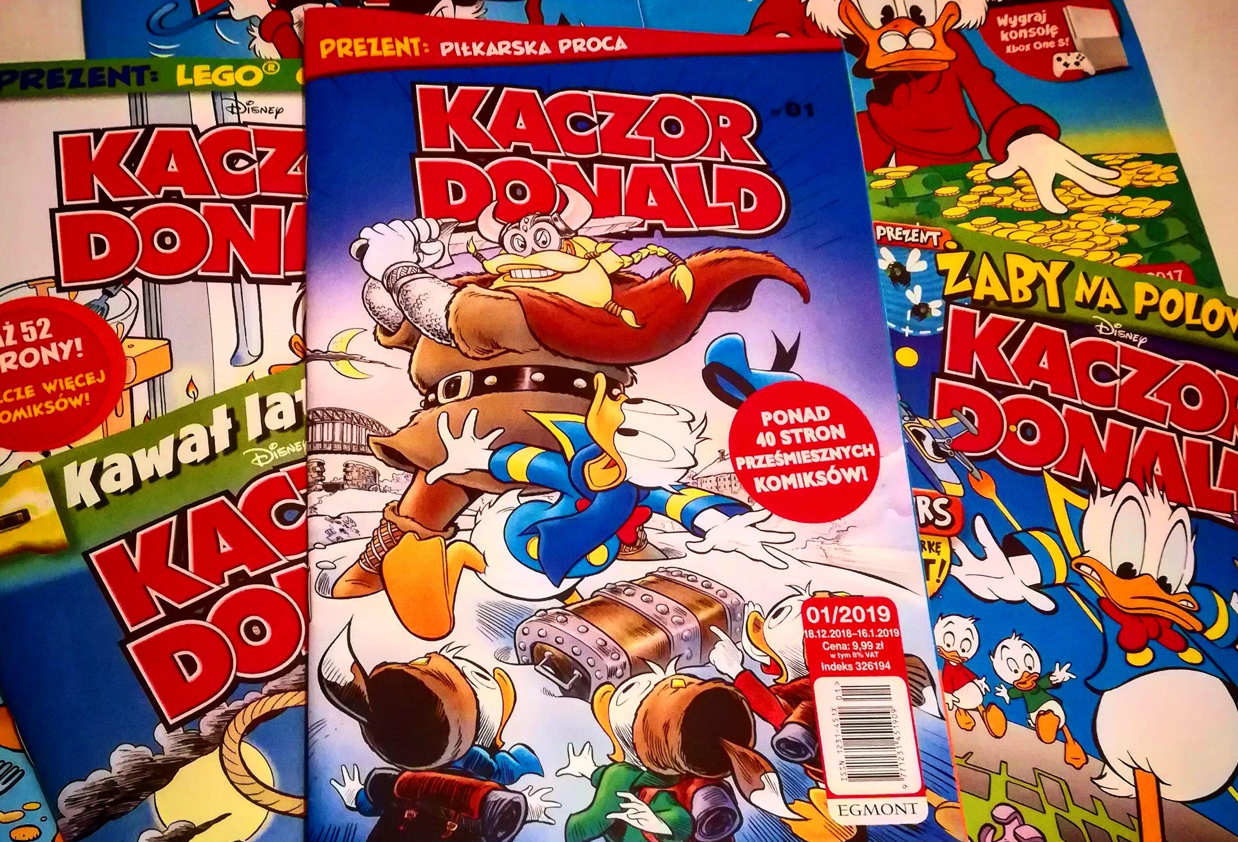 czasopismo kaczor donald