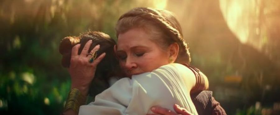 data premiery star wars IX carrie fisher