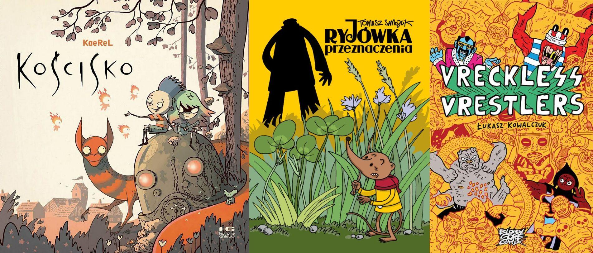 Najważniejsze polskie komiksy ostatnich 10 lat. Część 2