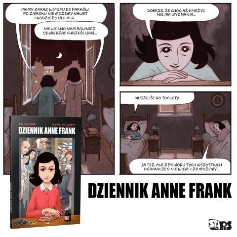 dziennik anne frank folman polonsky