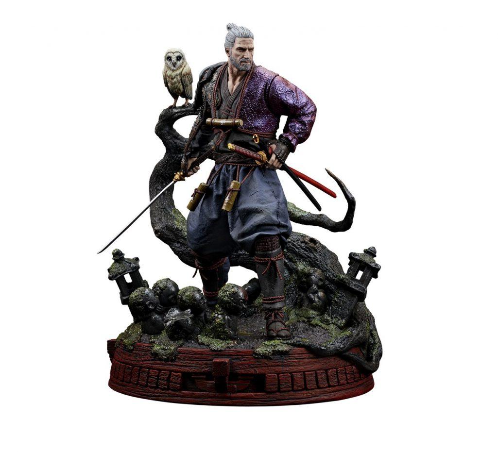 Figurka Wiedźmina Geralta jako ronina. Jakość i cena wyjątkowo wysokie