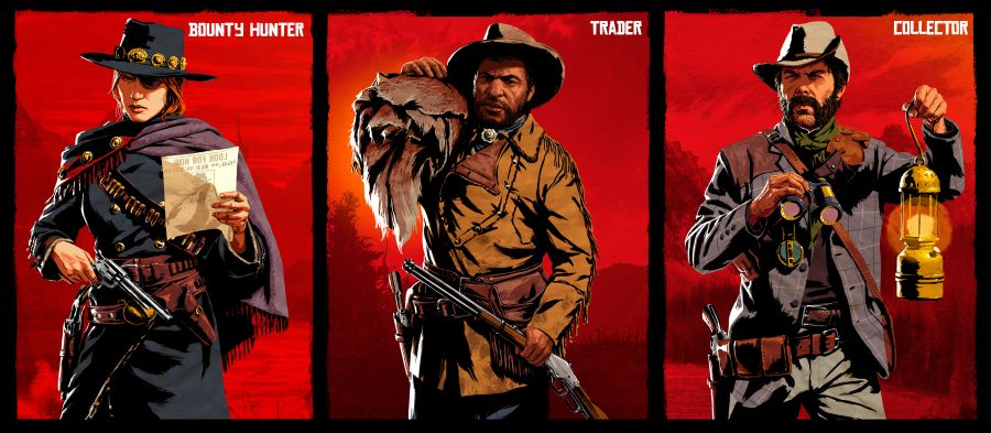 red dead online nowe postacie