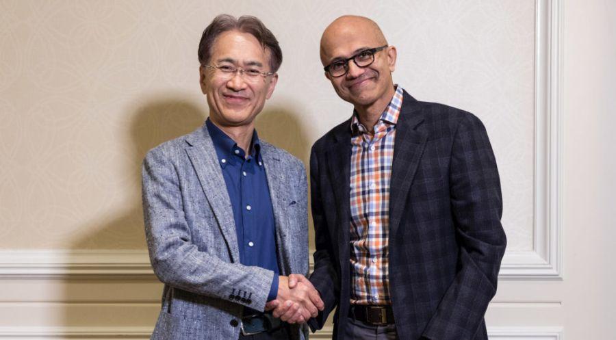 Sony i Microsoft rozpoczynają współpracę. Przełom w branży?