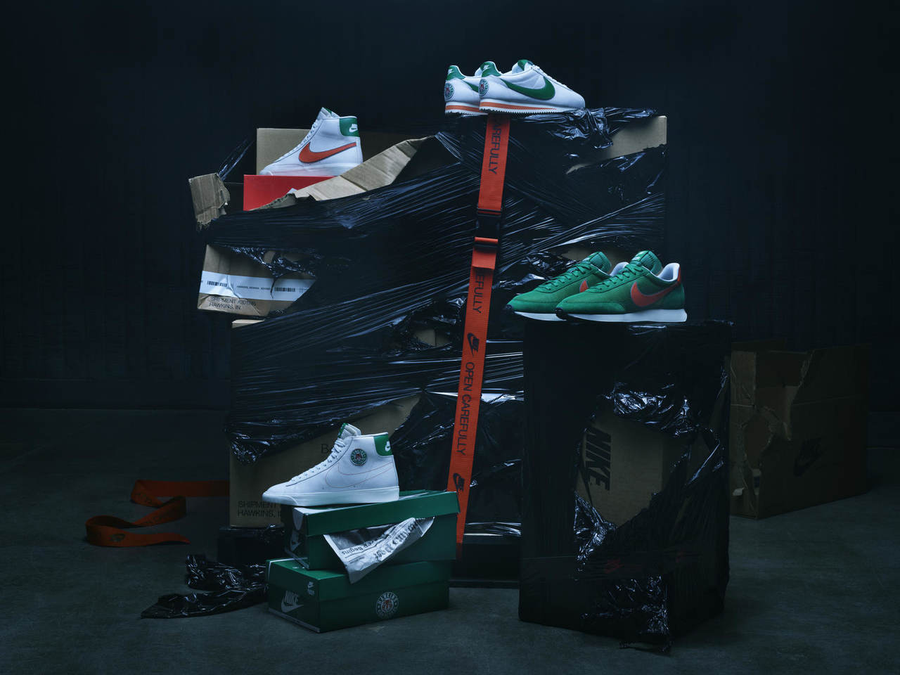 Nike wypuszcza kolekcję inspirowaną Stranger Things