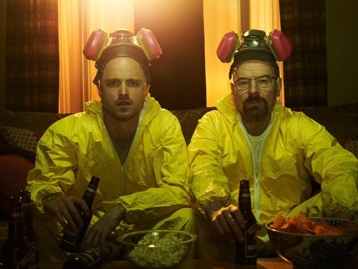scena z breaking bad - jesse i heisenberg