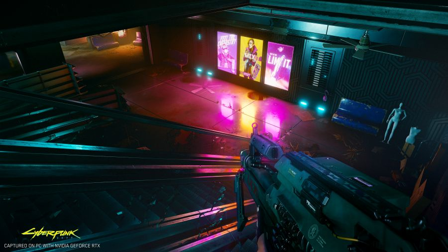 screeny cyberpunk 2077 z targow e3
