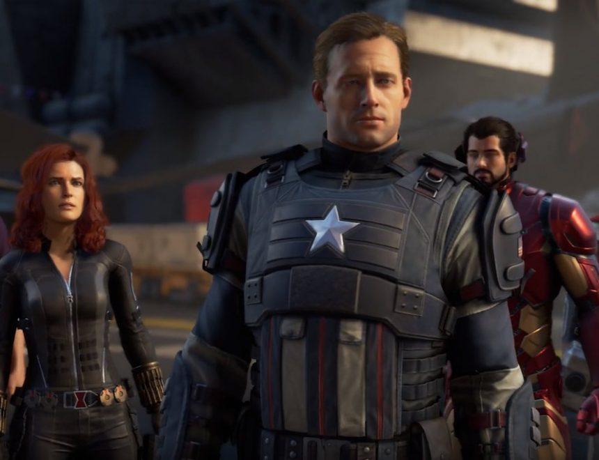 trailer marvel's avengers