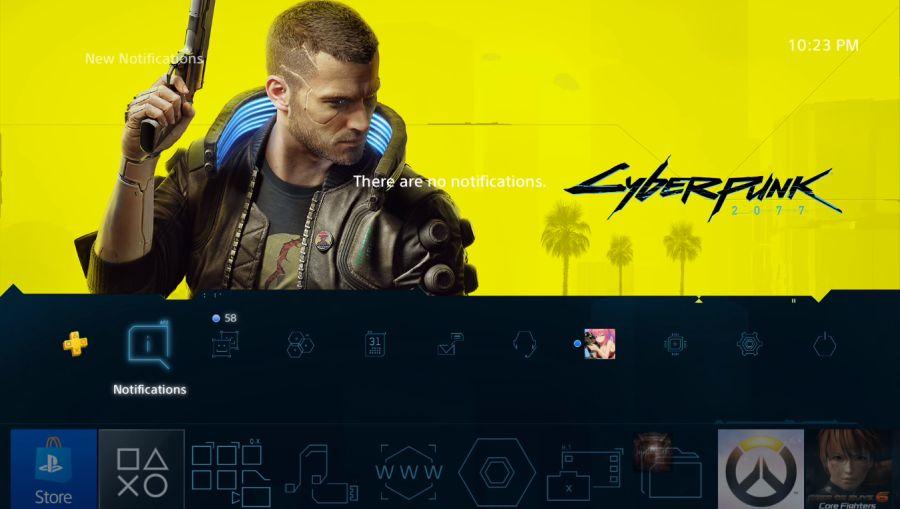 Motyw z Cyberpunk 2077 za darmo w PS Store