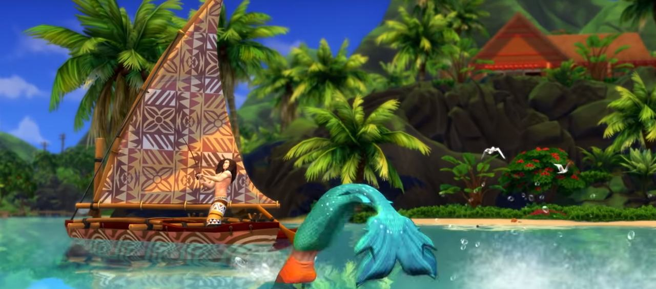 The Sims 4 wyspiarskie zycie