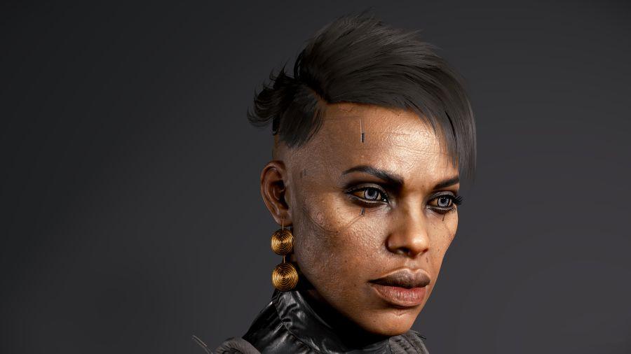 bohaterowie cyberpunk 2077 - bridgitte