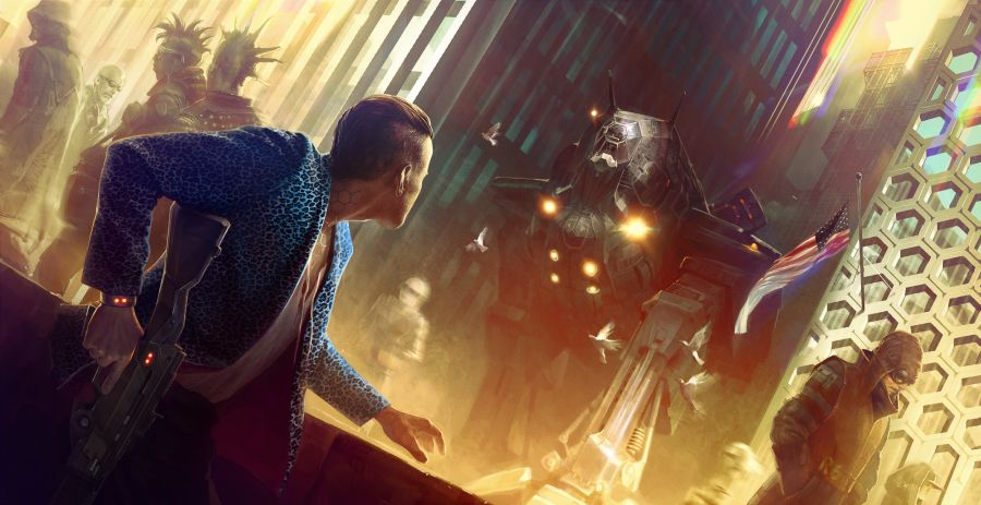 miejscem akcji cyberpunk 2077 jest night city