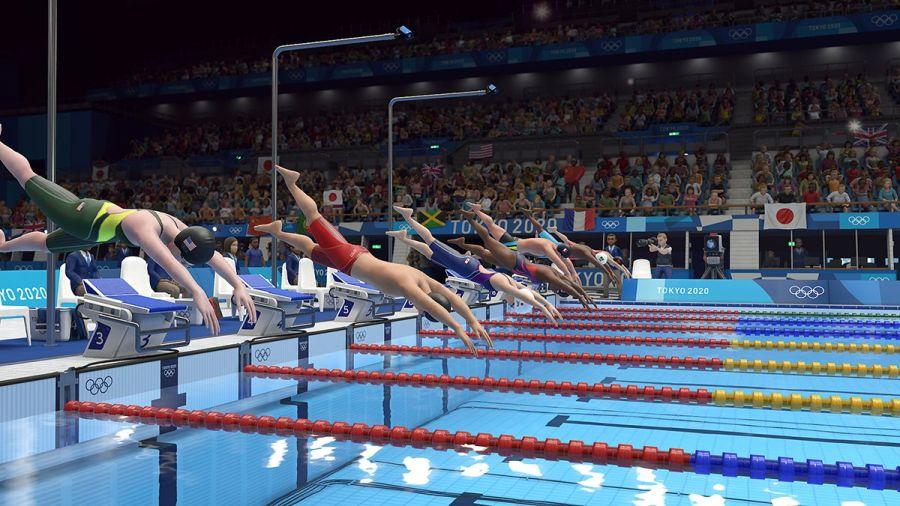 gra Olympic Games Tokyo 2020 trailery