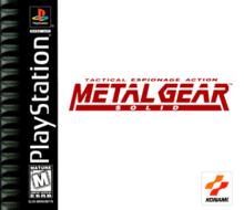 najlepsze gry na playstation 1 - metal gear solid