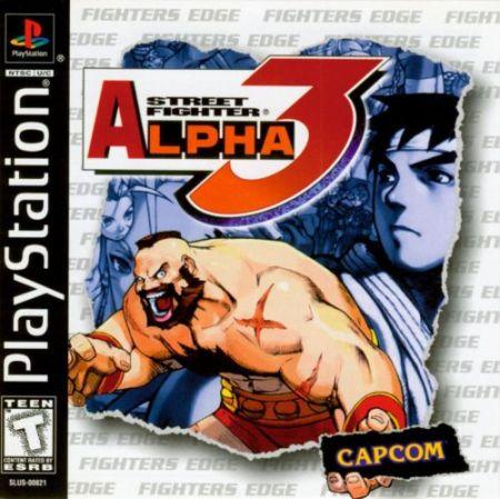najlepsze gry na playstation 1 - street fighter alpha 3