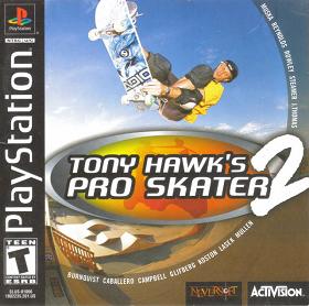 najlepsze gry na playstation 1 - tony hawk