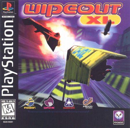 najlepsze gry na playstation 1 - wipeout xl