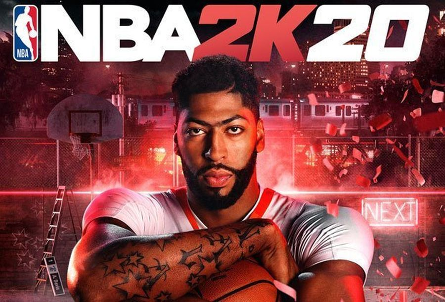 nba 2k20 okladka anthony davis