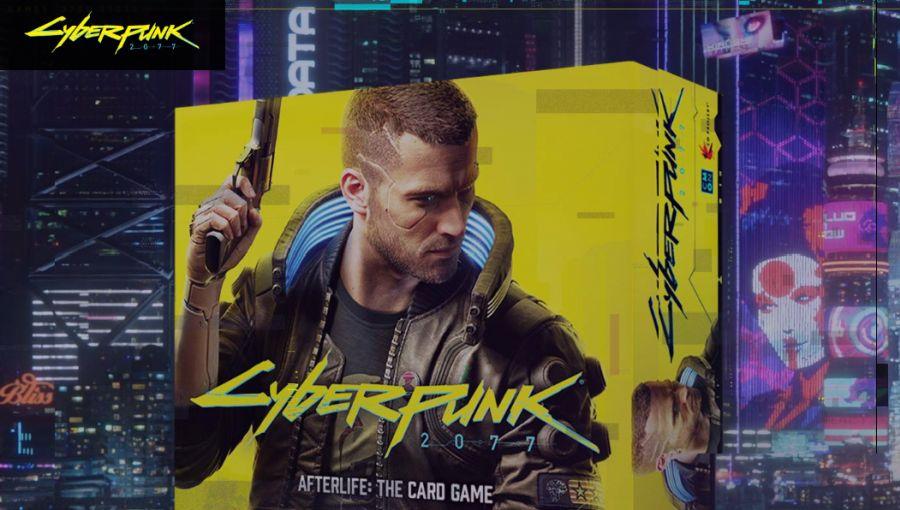 cyberpunk 2077 jako karcianka